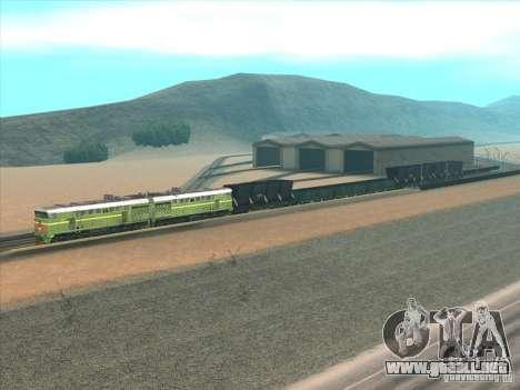 2te10u-0238 para GTA San Andreas vista posterior izquierda