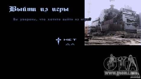 Pantallas de carga Chernobyl para GTA San Andreas tercera pantalla