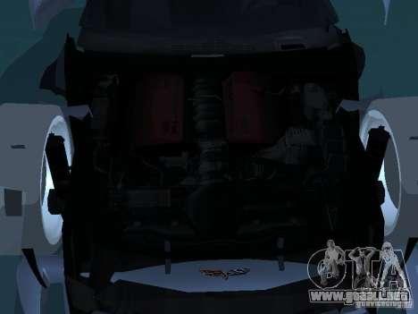 Chevrolet Corvette Stingray para la vista superior GTA San Andreas