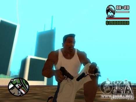 Gangster Weapon Pack para GTA San Andreas sucesivamente de pantalla