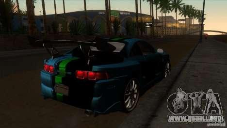 Toyota MR2 Drift para la visión correcta GTA San Andreas