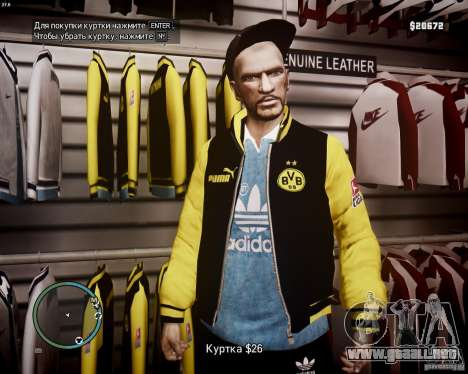 Foot Locker Shop v0.1 para GTA 4 octavo de pantalla