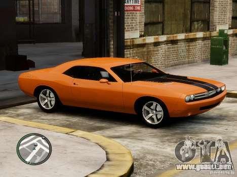 Dodge Chalenger para GTA 4 left