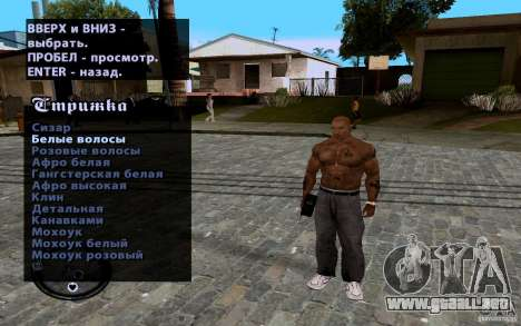 Nuevo CJ para GTA San Andreas twelth pantalla