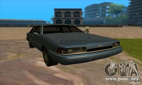 ENBSeries 0.075 para GTA San Andreas quinta pantalla