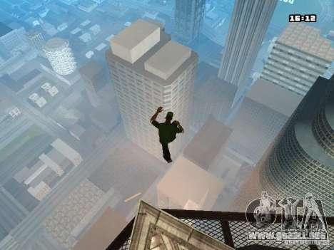 Parkour Mod para GTA San Andreas novena de pantalla