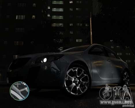 Vauxhall Insignia v1.0 para GTA 4 visión correcta