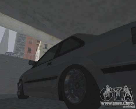 Futo de GTA 4 para GTA San Andreas vista posterior izquierda