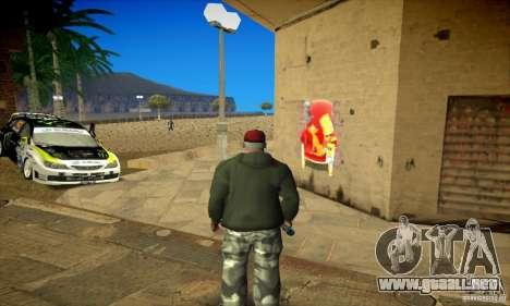 Simpson Graffiti Pack v2 para GTA San Andreas séptima pantalla