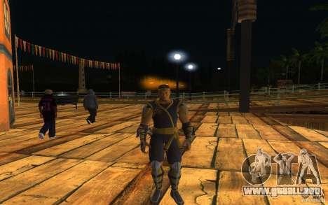 Cyrax de Mortal kombat 9 para GTA San Andreas