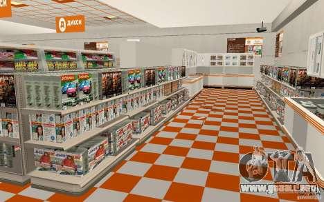 Nueva tienda de Dixie para GTA San Andreas tercera pantalla