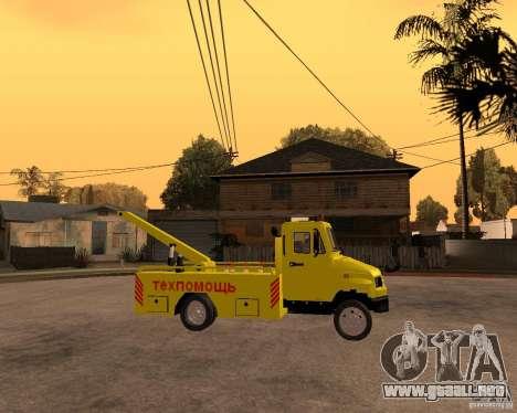 Recolector de ZIL 5301 Toro para la visión correcta GTA San Andreas