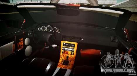 Mercedes Benz SL500 Custom para GTA 4 vista superior