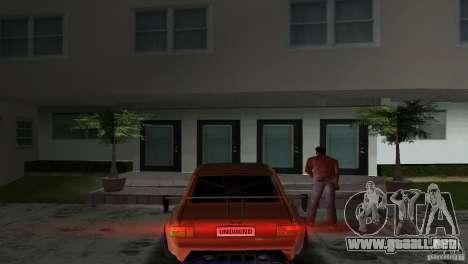 Zastava 110 GT para GTA Vice City visión correcta
