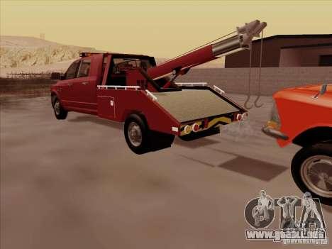 Dodge Ram 3500 TowTruck 2010 para visión interna GTA San Andreas