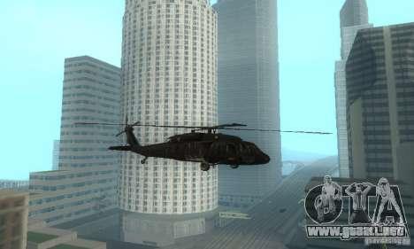 UH-60M Black Hawk para GTA San Andreas left