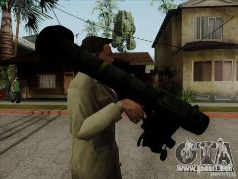 Javelin para GTA San Andreas segunda pantalla