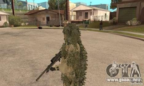 Francotirador de piel para GTA San Andreas tercera pantalla