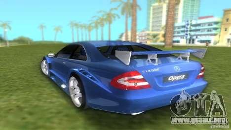 Mercedes-Benz CLK500 C209 para GTA Vice City left