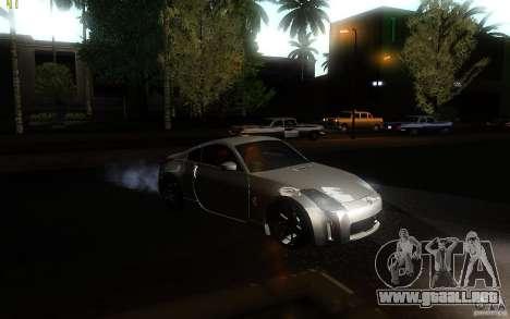 Nissan 350z Speedhunters para la visión correcta GTA San Andreas