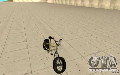BMX Long para GTA San Andreas