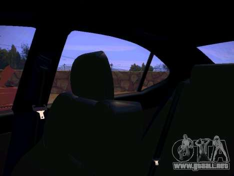 Lexus I SF para la vista superior GTA San Andreas