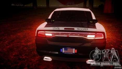 Dodge Charger 2012 Florida Highway Patrol [ELS] para GTA 4 interior