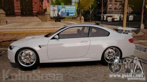 BMW E92 M3 Threep Edition para GTA 4 left