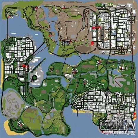 BUSmod para GTA San Andreas segunda pantalla