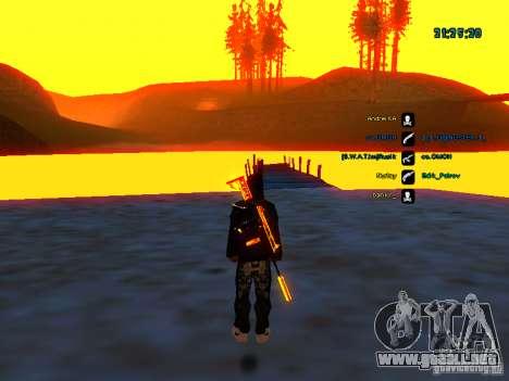 Paquete de piel para samp-rp para GTA San Andreas sexta pantalla
