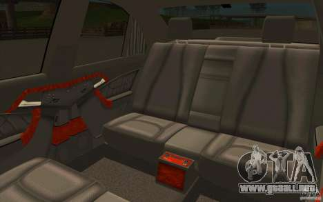 Mercedes-Benz S600 Pullman W220 para vista inferior GTA San Andreas