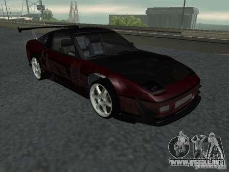 Nissan 240 SX para GTA San Andreas vista hacia atrás