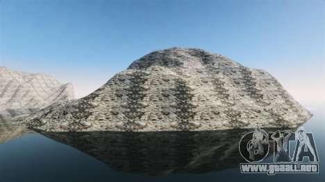 Paisaje de montaña para GTA 4 tercera pantalla