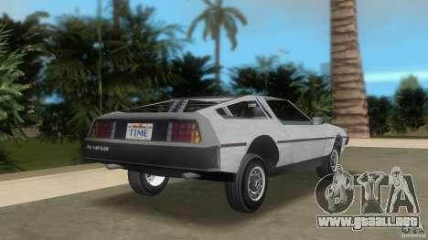 DeLorean para GTA Vice City vista lateral izquierdo
