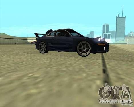 Toyota MR2 1994 para visión interna GTA San Andreas