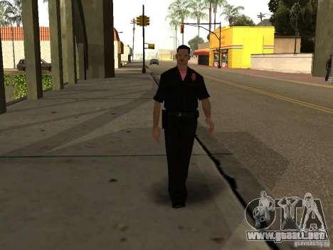 Cops skinpack para GTA San Andreas segunda pantalla