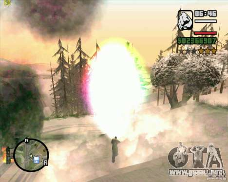 Masterspark para GTA San Andreas quinta pantalla