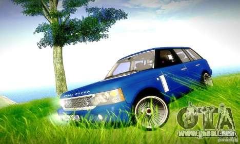 Range Rover Supercharged para el motor de GTA San Andreas