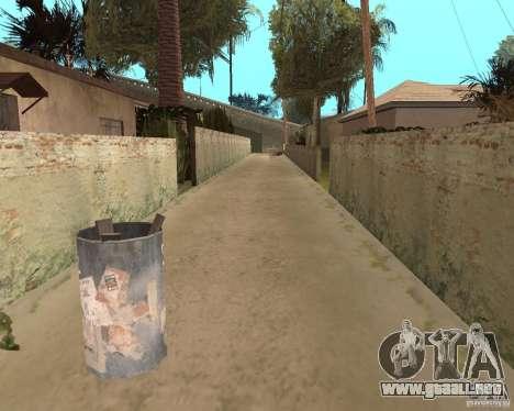 Remapping Ghetto v.1.0 para GTA San Andreas sexta pantalla