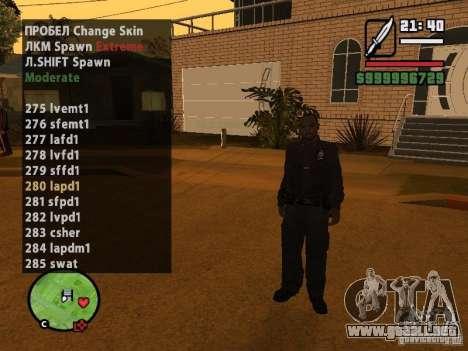 GTA IV peds to SA pack 100 peds para GTA San Andreas tercera pantalla