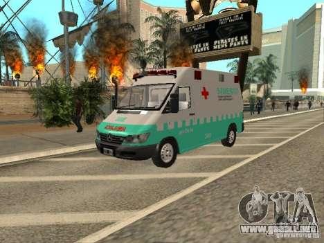 Mercedes Benz Sprinter SAME para GTA San Andreas