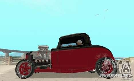 Ford Hot Rod 1932 para la visión correcta GTA San Andreas