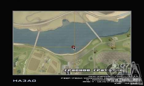 Isla (mes en el agua) para GTA San Andreas séptima pantalla