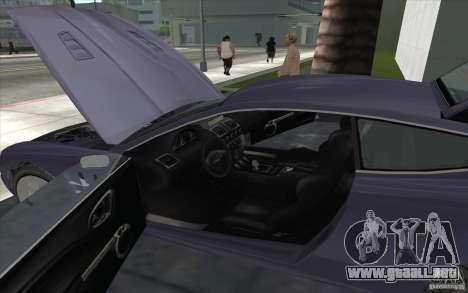 F620 de GTA TBoGT para GTA San Andreas vista hacia atrás