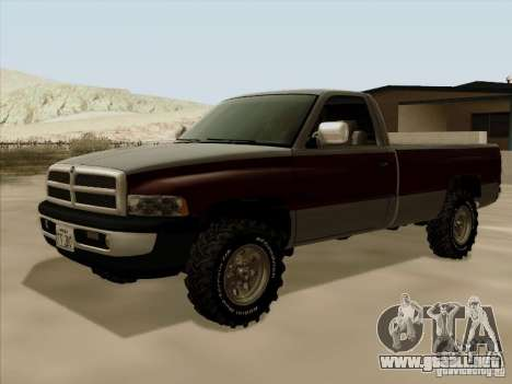 Dodge Ram 2500 1994 para GTA San Andreas left