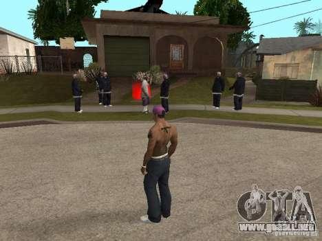 Ballas 4 Life para GTA San Andreas segunda pantalla