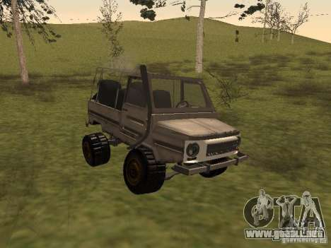 LuAZ 969 Offroad para GTA San Andreas left
