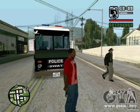 Nuevo Sheriff para GTA San Andreas tercera pantalla