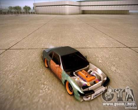 Nissan Silvia S13 Under Construction para vista inferior GTA San Andreas