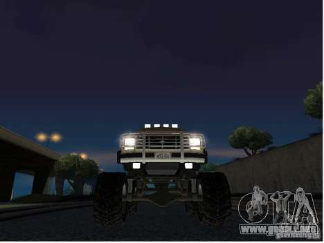 Ford Bronco IV Monster para visión interna GTA San Andreas
